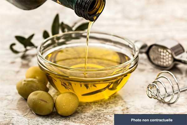 Lot d'huile de tournesol